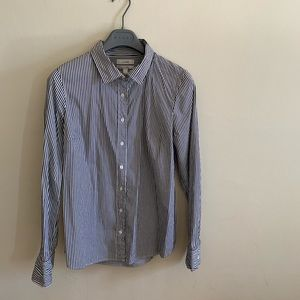 Jcrew stripes dress shirt fitted, Small